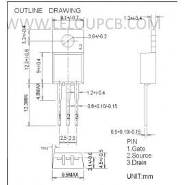 Transistor RD16HHF1
