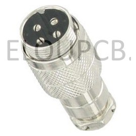 NC-528 fiche male 6 pin