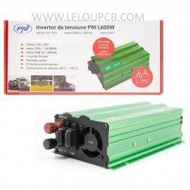 Onduleur PNI L600W  12/24V 220V 500W