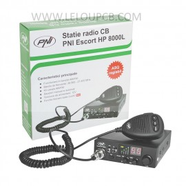 Kit PNI CB HP 8000L + Antenne Extra 45