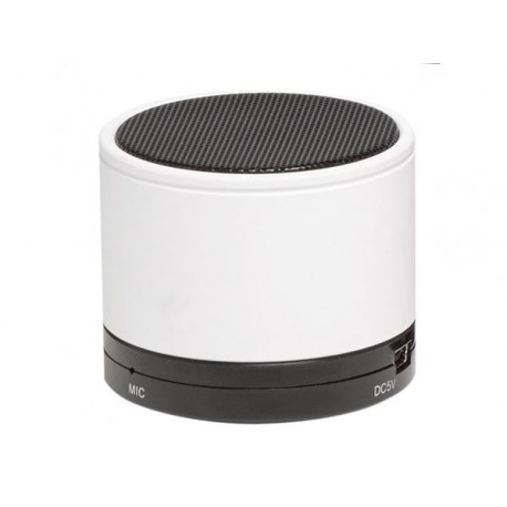 bts 21white enceinte bluetooth avec batterie rechargeable blanc sur leloup cb. Black Bedroom Furniture Sets. Home Design Ideas