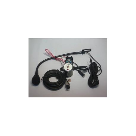 Kit mains libres  CB  connecteur micro à 6 broches