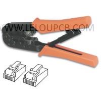 PINCE A SERTIR POUR CONNECTEURS MODULAIRES 6P4C (RJ11), 6P6C (RJ12), 8P8C (RJ45)